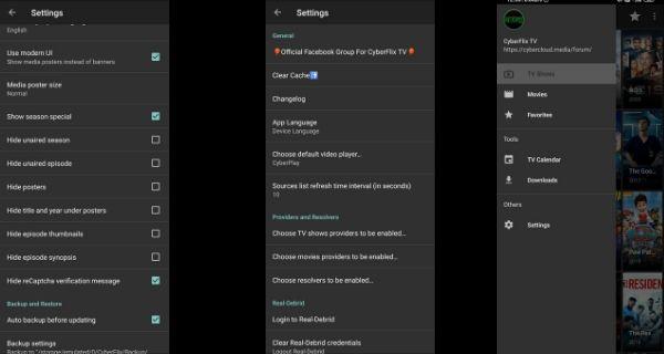 Cyberflix TV Screenshot 3